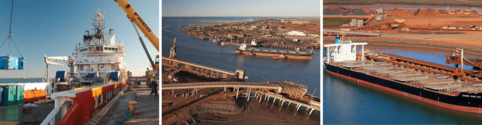 Pilbara Ports Authority Grid Image Preview