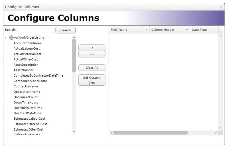Adding Columns to the Listing Layout