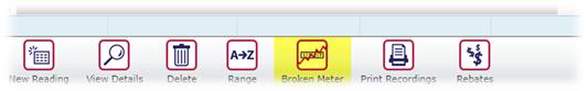 Broken Meter Button