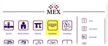MEX Main Menu