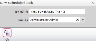 New Task Schedule