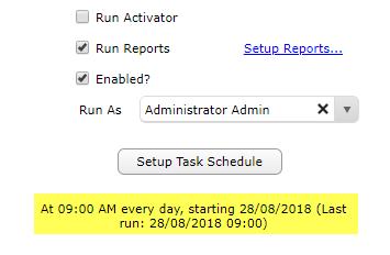 Saving Task