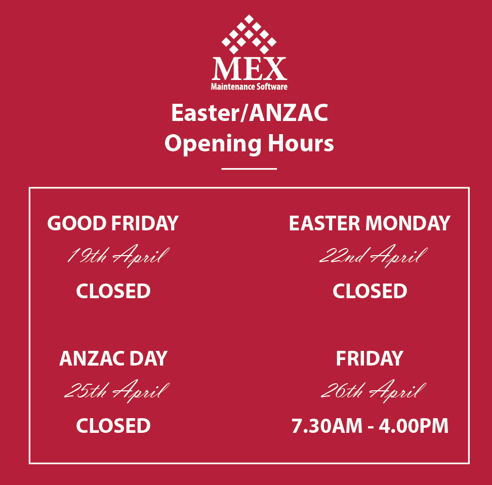 Easter and ANZAC Opening Hours 2019