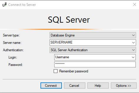 Backing Up a Database in SQL Server Management Studio 2018