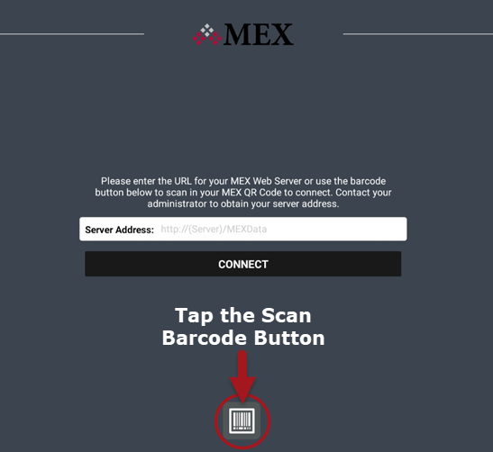 Connecting my MEX App