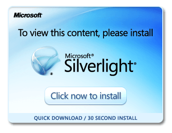Installing Silverlight for use with the MEX Maintenance System