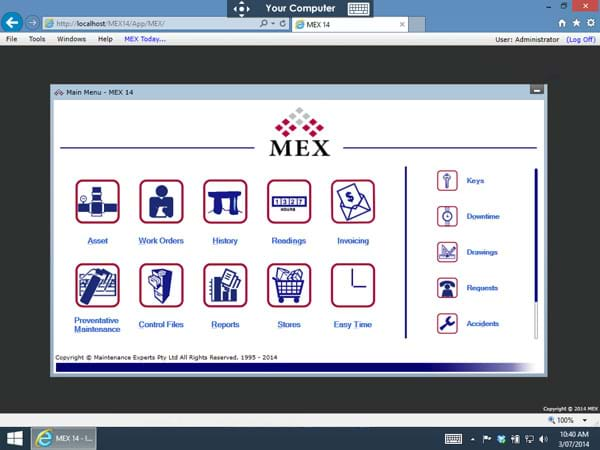 Access MEX on Android iOS and MAC with Remote Desktop | MEX Blog Article