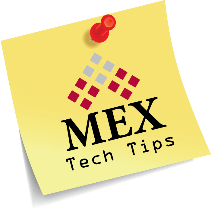 MEX Ops Settings in V15