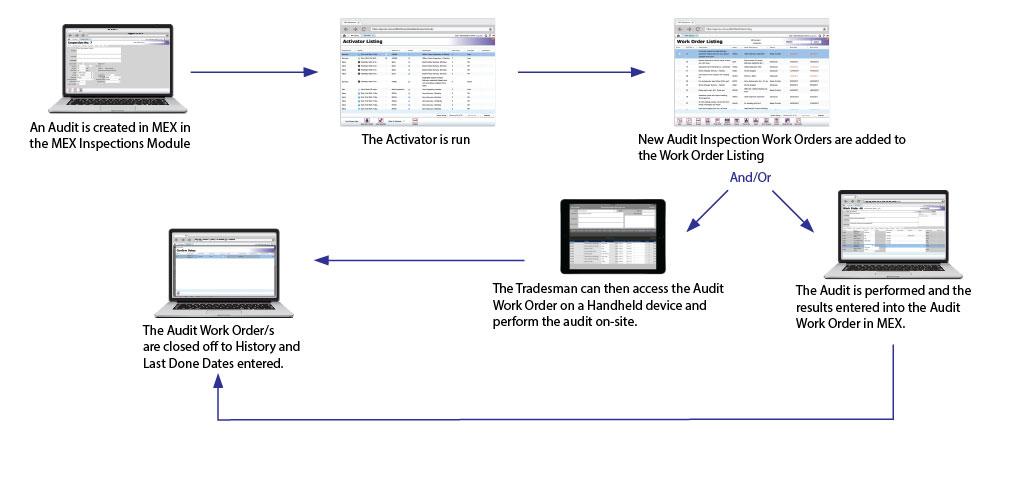 MEX Audit Inspection Process