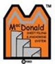 McDonald Super Strength Sheet piling