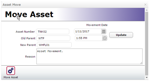 Move Asset Form