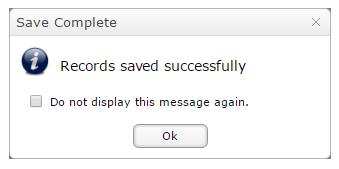 Save Complete Quick Edit