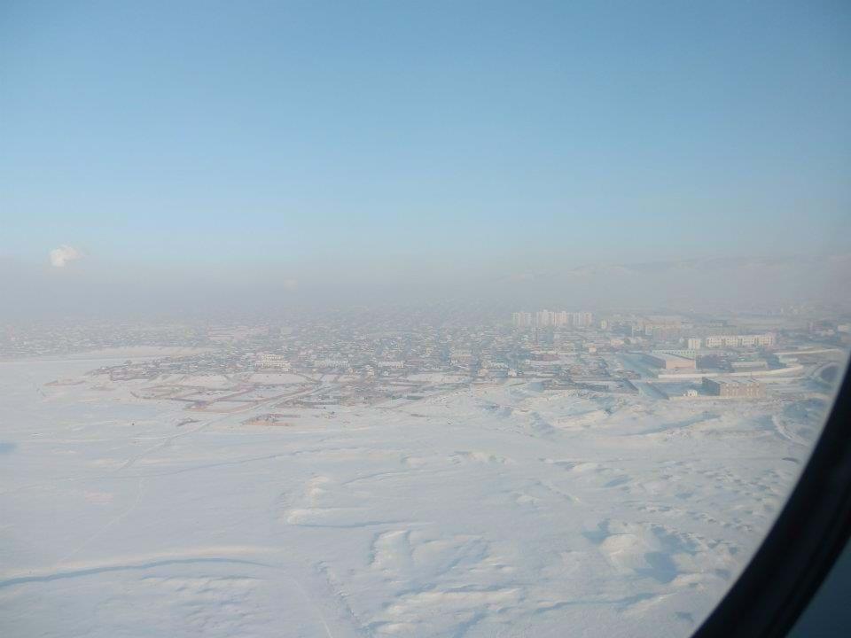 Approaching Ulaanbaatar