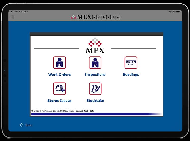 MEX Maintenance Software iOS CMMS App