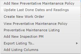 Update Last Done Dates Option